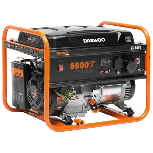 Бензиновая электростанция Daewoo Power Products GDA 6500
