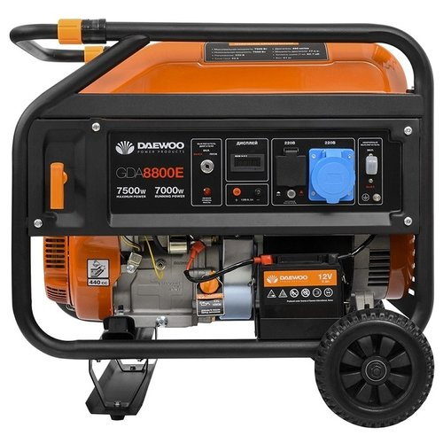 Бензиновая электростанция Daewoo Power Products GDA 8800E